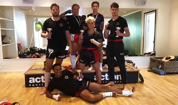 Skurup Brawl 3 2020-08 Fighter Kickboxning